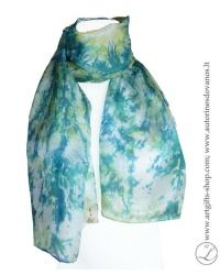 hand-dyed--shibori-silk-scarf-blue-green-hand-made-gifts-1