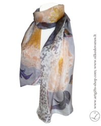 hand-painted-scarf-peonies-romantic-grey-pink-linaegle-urboanite-artist-lithuania