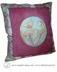 hand-painted-silk-pillow-case-flowers