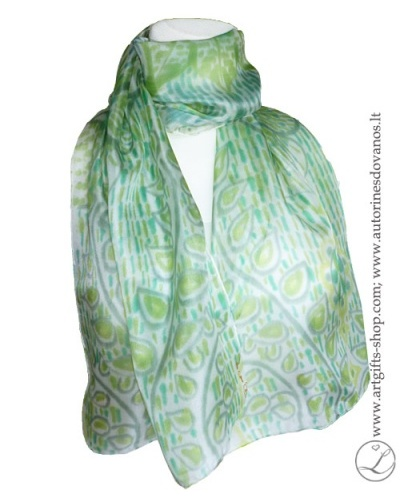 hand-painted-silk-scarf-blue-green-flower-hand-made-gifts-2